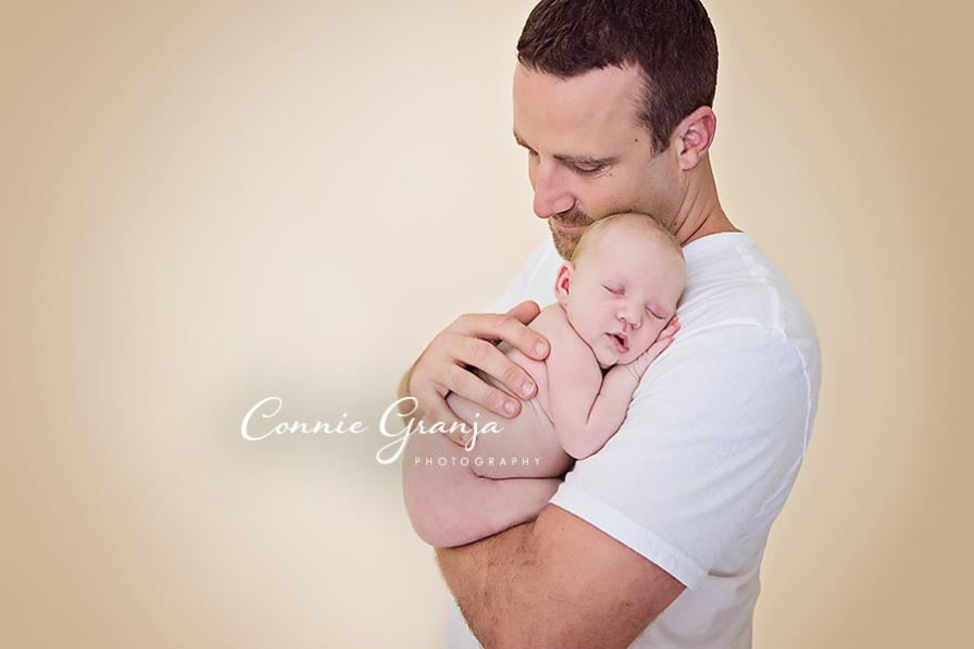 Baby Girl Newborn Session - Connie Granja Photography