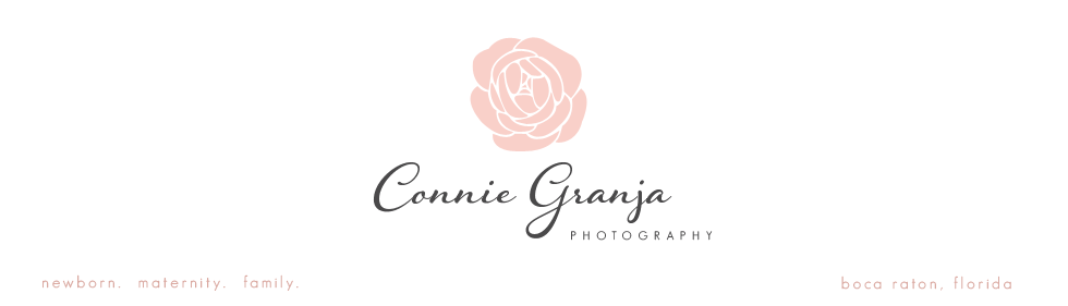 Boca Raton, Florida Newborn Baby Photographer |  Connie Granja Photography logo
